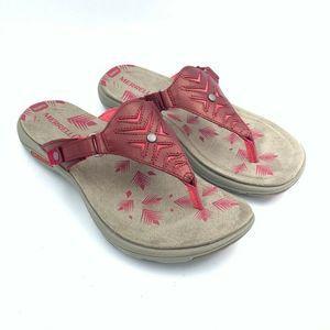 Merrell Womens Adhera Thong Sandals 8